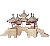 Puzzle Kit fai-da-te Costruzioni Puzzle 3D Gioco educativo Puzzle Modellini di legno Costruzioni Giocattoli fai da teQuadrata Castello