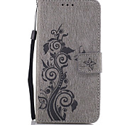 For Google Pixel XL Pixel PU Leather Material Embossed Pattern Butterfly Phone Case