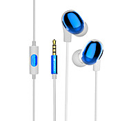 SANSUI S3 SANSUI Mobile Earphone for Cell Phone 3.5mm In-Ear Wired With Microphone Volume Control