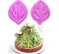 2 Piezas Molde para hornear para la torta para chocolate Goma de silicona Ecológico