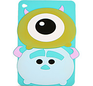 For Apple iPad Mini 123/4 Case Cover Pattern Back Cover Case 3D Cartoon Soft Silicone
