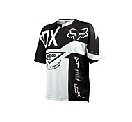 Fox Motorrad Kleidung Kurzarm Sonnencreme atmungsaktive Feuchtigkeit Schweiß schnell trocknende Kleidung T-Shirt Sommer