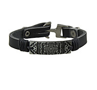 Fashion Wide Black Velvet Wrap Bracelet