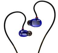 Kz zs2 écouteurs intra-auriculaires avec micro super bass design