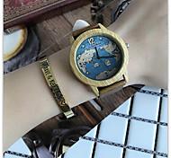 Жен. Наручные часы Уникальный творческий часы Повседневные часы Часы Дерево Китайский Кварцевый / деревянный Кожа Группа Cool
