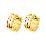 Queen Women Men Fashion Frosted Earrings Stud Stainless Steel Material Good Color Trendy Style Earrings Jewelry