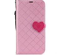 For Samsung Galaxy J7(2017) J5(2017) PU Leather Material Love Stitching Color Phone Case J3(2017) J3 Prime J510 J310 J3