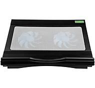 Verstellbarer Ständer MacBook Tablet PC Laptop Stehen Sie mit Kühlventilator Kunststoff