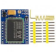 Gprs a6 mini serial gprs gsm модуль основной платы разработки