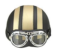 Mezzo casco Casco con Googles ABS Caschi Moto