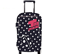 Luggage Cover Luggage Accessory for Luggage Accessory Polyester-Black/White