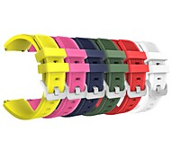 6 PC für Samsung-Gang s3 Grenze / s3 klassischer Wiedereinbau-Bandbügelgurt weiches Silikonarmband Wristband