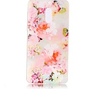 For Nokia 6 Case Cover Flower Pattern Painted Relief High Penetration TPU Material Phone Case