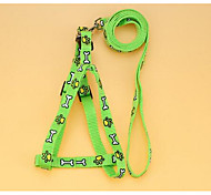 Leash entrenamiento de seguridad nylon flor