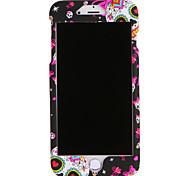 Для Apple iphone 7 7plus case cover pattern полный корпус чехол череп жесткий ПК 6 с плюс 6 плюс 6 с 6