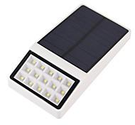 1pcs im Freien Solar angetriebene 15 geführtes Sicherheitswand-Einfassungs-Gartenlicht-Pfad-Yardlampe