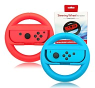 Joy-Con Steering Wheel for Nintendo Switch Controller  Nintendo Switch Joncon Steering Wheel (Set of 2) RedBlue