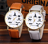 Ladies Fashion Quartz Watch Women Animal Leather Casual Dress Women's Watch Reloje Mujer Montre Femme