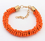 European And American Fashion Beautiful Beads Beaded Bracelet