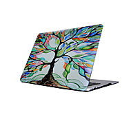 For MacBook Air11/13 Pro13/15 Pro with Retina13/15 MacBook12 Oil Painting Tree Pattern MacBook Case