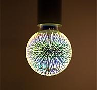 4W E27 Bombillas LED de Globo G95 28 LED Integrado 350 lm Blanco Cálido Decorativa AC 85-265 V 1 pieza