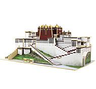 Rompecabezas Puzzles 3D Bloques de construcción Juguetes de bricolaje Arquitectura China 1 Madera Modelismo y Construcción