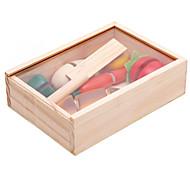 Конструкторы Обучающая игрушка Игрушка Foods Для получения подарка Конструкторы Дерево 2-4 года 5-7 лет Игрушки