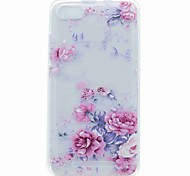 For Wiko Lenny 3 Lenny 2 Case Cover Translucent Pattern Back Cover Case Flower Soft TPU Case