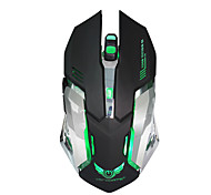 Wiederaufladbare Wireless-Gaming-Maus 7-Farben-Hintergrundbeleuchtung Atem Komfort Gamer Mäuse für Computer-Desktop Laptop Notebook-PC