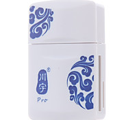 Kawau USB2.0 card reader multi-function card reader support micro sd tf card/sd card/memory stick