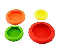 4pcs / set овощные плоды huggers пластичные цветастые huggers еды для того чтобы держать вашу еду безопасную свежий цвет инструментов