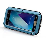Для Защита от удара Защита от влаги Кейс для Чехол Кейс для Один цвет Твердый Металл для Samsung A3 (2017) A5 (2017)