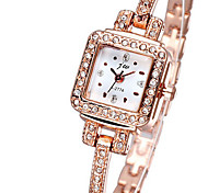 Women's Bracelet Watch Quartz Alloy Band Gold
