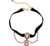 Women's Pendant Necklaces Drop Chrome Unique Design Personalized White Jewelry For Housewarming Congratulations Casual 1pc