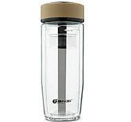 Doppelwand Business Glas Tasse 350ml