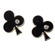 Fashion And Individuality Of Mini Pokerplum Blossom Han Edition Drop Earrings Accessories Diamond Earrings