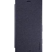 Для Sony Xperia XZ XA Ultra Nillkin случае крышка автоматического сна / бодрствования флип матовое полный корпус тела сплошной цвет