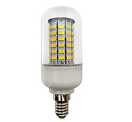 4.5W LED Corn Bulb E14 Screw Base B22 Bayonet Base 69 SMD 5730 420Lm 10-60V 24V 48V for RV Boat Marine Warm /Cool White (1 Piece)