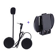 Vnetphone 3.5mm Helmet Microphone V6 intercom V4 Interphone Headset Accessories Stereo Clip Buckle for V6 Intercom V4 Helmet Interphone Accessories