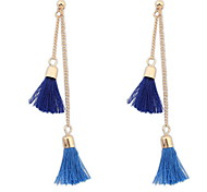 Bohemian fashion nail tassel earrings