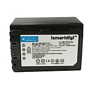 Ismartdigi FH70 7.2V 2200mAh Camera Battery for Sony HDR-SR10E DCR-SR35E DCR-SR36E DCR-SR55E