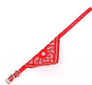 Домашнее животное снабжает любимцем воротнички треугольной повязкой extra small 1.0 cm шарф шарфа любимчика шарфа
