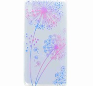 For Sony XA Ultra X COMPACT Case Cover Transparent Pattern Back Cover Case Dandelion Soft TPU for Sony Xperia C6 XA E5 X PERFOR