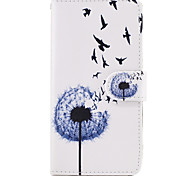 Case For Samsung Galaxy Grand Prime On7(2016) Case Cover The Dandelion Pattern PU Leather Cases for On5(2016)