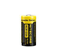 2pcs NiteCore nl166 650mAh 3.7v 2.4wh batería recargable 18650 li-ion