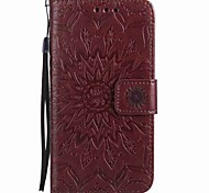 Para huawei p9 lite p9 capa capa carteira carteira com suporte flip magnético em relevo corpo inteiro bolsa flor dura pu couro p8lite y5ii