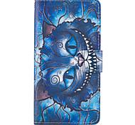 Для яблока iphone 7 7 плюс iphone 6s 6 плюс iphone se 5s 5 чехол для корпуса синие модели кошки PU кожаные чехлы