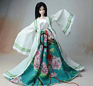 Платье Для Кукла Барби Пальто Платье Для Девичий игрушки куклы