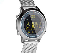 IP67 Waterproof Luminous Dial Mobile Pedometer  Information Alarm Clock  CR2032 Button Battery Bluetooth Smartwatch Compatible With Android IOS System