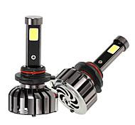 Kkmoon paire de 9005 hb3 dc 12v 40w 4000lm 6000k lampe frontale kit lampe ampoules